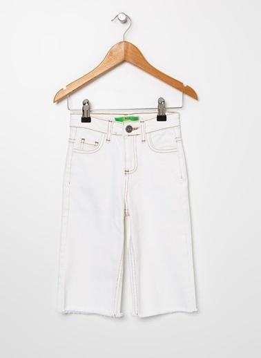 Limon Company Limon Beyaz Kız Çocuk Pantolon Beyaz